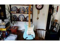 Fender classic 50s reissue Stratocaster guitar