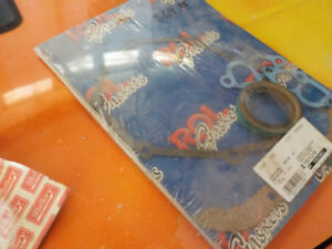 Brand new timing cover gaskets and seal for 440 dodge