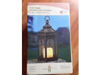 Brand New Smart Garden Moroccan Lantern