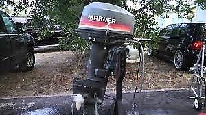 Mariner 30 hp 2 temps pieds court 1998