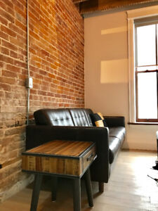Executive 2 Bedroom Loft - Fully Furnished - Avail Sept 1!