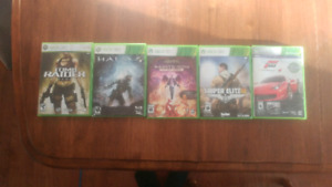 5 games forsale $10 each