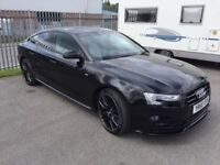 Audi A5 S line Black edition + TDI Stunning car immaculate condition low milage
