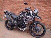 TRIUMPH TIGER 800 XCX LOW MILEAGE IMMACULATE