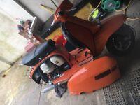 Lambretta GP 150cc with 186 mugello kit