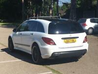 2008 MERCEDES R 320 CDI R63 AMG REPLICA 7 SEATER £13K RECEIPTS FMSH 10K EXTRAS R320 ML320 GL320 ML