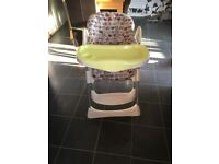 £5 Highchair used condition