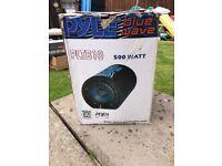 Blue wave speaker
