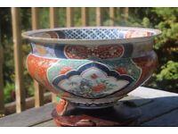 Japanese, Imari ware Jardinere, late 19th cent.