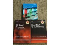 Chemistry AS-Level Edexcel Textbook (*PLUS* CGP Revision Guide and Head Start!)