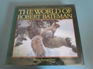 5 Robert Bateman art books