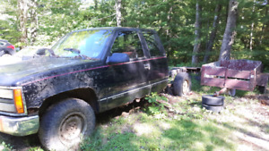 Project Truck- 1994 gmc 4x4 with 350