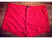Gap Orange Shorts - Size 20