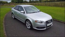 Audi A4 2.0 TDi S-Line 170 bhp - Heated leather, Parking sensors, Voice command