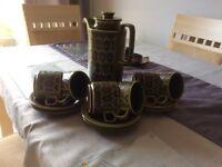 Green Hornsea. Pottery
