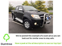 TOYOTA HILUX 3.0 HL3 09 DIESEL -- Read the description before replying to the ad!!