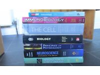Biology Textbooks. Microbiology, Cell Biology etc.