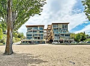 Live and Work on Okanagan Lake Beach