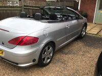 Peugeot 307cc convertable with LPG