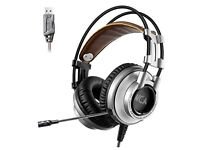 Gaming Headset with Microphone for PC/Mac/Laptop
