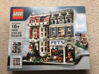 Lego Pet Shop 10218 - Brand new in factory sealed box