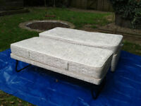 3FT SINGLE GUEST BED 3 IN 1 WITH MATTRESS PULLOUT TRUNDLE BED #FREE LOCAL DELIVERY#