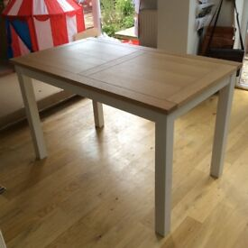 Solid wood dining table 4 seater