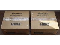 Technics 1210 Mk2 Pair Original Boxes Immaculate Genuine Condition - Bristol Collection