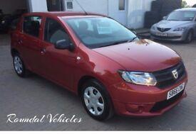 IMMACULATE , LIKE NEW Dacia Sandero 1.2 five door hatch, JUST 3000 miles, Manufacturer warranty