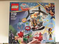 NEW! Lego DC Super Hero Girls Bumblebee Helicopter 41234 in box - IMMACULATE