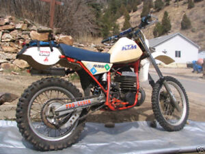 1983 KTM 495 Motocross Race Bike, seriously fast!