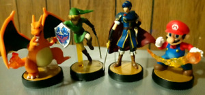 Smash Bros Amiibos