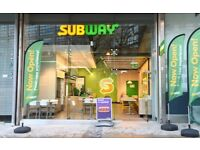Subway Restaurant/Drive Thru Franchise Business For Sale - Opportunities Available Nationwide