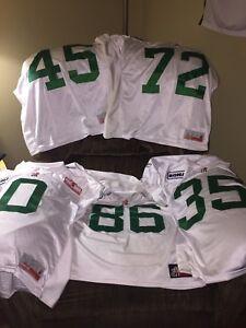 Saskatchewan Roughrider practice jerseys