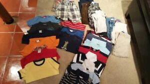 5 YR OLD BOYS LOT OF CLOTHING