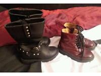 girls infant size 8 boots