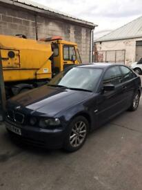 Bmw 316 ti spares or repairs