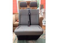 VW T5 double front seat, good condition
