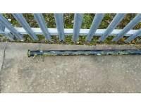 metal washing line pole 6ft