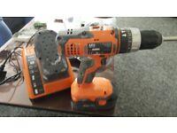 AEG drill 18.0v ni cad 18v