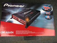 BRAND NEW Pioneer GM-A6604 4-channel Bridgeable Car Amplifier — 760 W