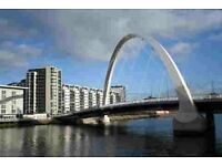 Glasgow Lancefield Quay luxury flatshare - professional sought