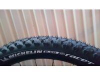 NEW Michelin Wild Race'R2 Advanced Tubeless Certified Tyre 26 x 2.25 – RRP £43.99 Carerra Cube Trek