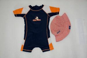 Ensemble  baignade (swimming set) fille 3-6 mois