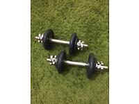 Dumbell set Cast Iron