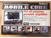 Roland Mobile Cube Guitar Amplifier. Home use only. Boxed. Excellent condition.