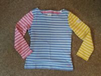 GIRLS JOULES HARBOUR TOP SIZE 7