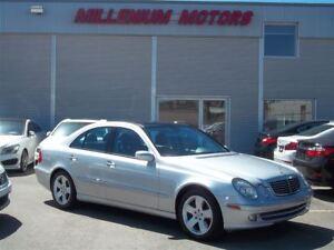 2005 Mercedes-Benz E-Class E500 4MATIC AWD / NAVI / LEATHER / SU