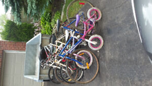 12 bikes for parts