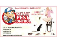 100% Guaranteed Pest Control (Mice, Rat, Cockroach, Bedbugs, Wasps, Spiders, Ants, Fleas, Moth, etc)